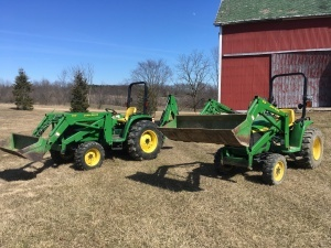 Compact Tractor and Implement Auction