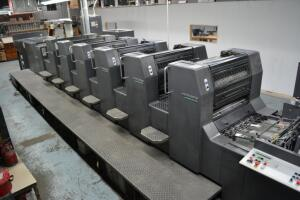 Commercial Printer Liquidation Auction