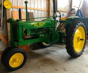 Tractors, Shop Equipment, and Tools