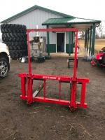 Quick catch attachment for Westendorf front end loader