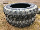 Pair of 18.4 R 46 Tires