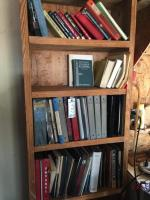 Service Manuals and Books- does not include bookshelf