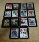 Football and Hockey Cards- Some are Autographed