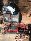 (2) Battery Chargers, Hydraulic Jack