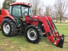 Case Farmall 95 4X4 Tractor with L730 Loader, dual outlets, less than 500 hours, S/N - 43236