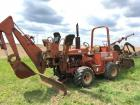 Ditch Witch 5110 with M710 Trencher and Backhoe Attachment