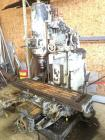 Cincinnati Milling Machine with numerous parts, S/N - A2V16-7