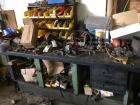 Workbench and Numerous contents on top of and below