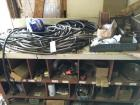 Large Storage cabinet with Hoses and numerous contents
