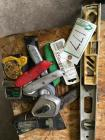 Utility Knives, Tape Measures and Levels