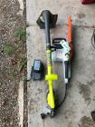 Stihl Electric Chainsaw and Ryobi 18V String Trimmer
