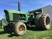 1969 John Deere 4520 Tractor, Dual remotes, shows 2,833 hours, S/N - 2175R