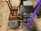 Pallet of Misc. Items including End tables and Decorative Boxes