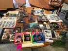 The Beatles Memorabilia Including Figurines and Records