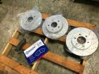 Brake Pads Set and (3) Disc Brake Rotors