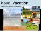 5 Night Vacation Kauai, Hawaii