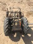 Garden Tractor Frame and Tires w/ Culitvator