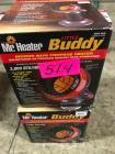 (2) Little Buddy Indoor Safe Propane Heaters