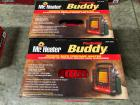 (2) Portable Buddy Propane Heaters