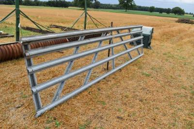 15' Galvanized Gate