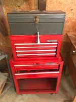 Craftsman Toolbox with Tools, Single Toolbox with tools