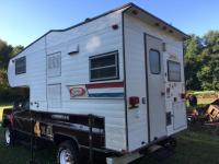 Coachman Space Age Truck Camper - Truck does not sell