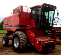 Case IH 1640 Combine- 2 Wheel Drive, S/N 014041, Engine and Separator Hours 3900
