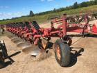 "Case IH 800 11 Bottom Plow- Auto Reset, 18"", S/N CCF0005113, M/N 800, On Land Hitch"