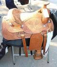 "Alamo Western Show Saddle with Saddle Carrier - 16"" Seat"