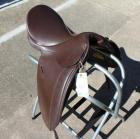 "Lovatt and Ricketts English Saddle- 17.5"" Seat"