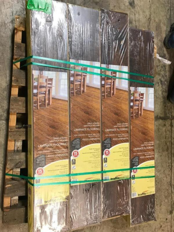 Saratoga Hickory Laminate Flooring