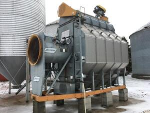 1993 GSI Airsteam 1110 Grain Dryer, Single Phase, Propane, 450 bu. capacity can be run batch or continuous flow