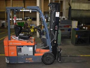 Toyota Electric Forklift Truck- 767 Hours