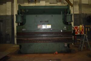 "Cincinnati 230 CB x 10 Press Brake- S/N 44590, 230 Ton Max Capacity, 10"" Max Stroke"