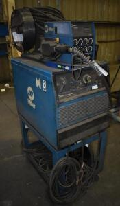 Miller Dimensiion 452 Power Source with Miller 60 Series Wire Feeder