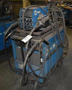Miller Dimension 400 Power Source with Miller 60 Series Wire Feeder