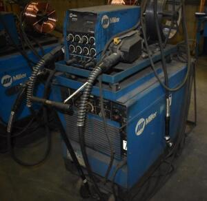Miller Dimension 400 Welding Power Source with Miller 60 Series Wire Feeder
