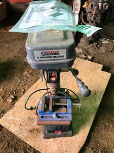 "Central Machinery 10"" Bench 12 Speed Drill Press"