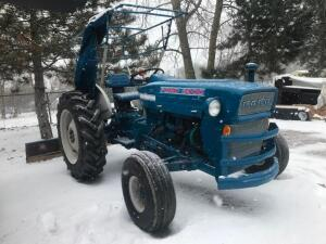 1965 Ford 3000 Tractor with 7' Back Blade
