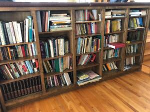 Contents of Bookshelf, various topics and authors