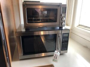 Magic Chef Stainless Steel Microwave and Breville Toaster Oven
