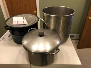 Large Cooking and Canning Pots