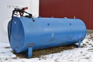 1000 Gallon Fuel Tank with Pump