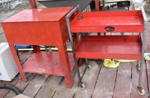 R&D Parts Washer and Tool Cart