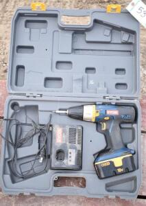 Ryobi 18V Cordless Drill with Battery and Charger