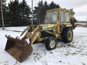 White 1615 Backhoe