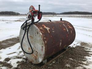 300 gal. Fuel Tank with Pump