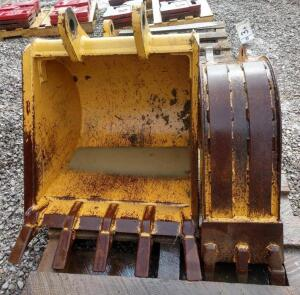 "(2) Backhoe Buckets- (1) 24"", 5-Tooth, (1) 12"", 3-Tooth"