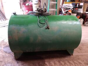 250 Gallon Fuel Tank with Pump