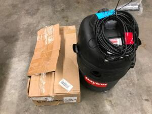 Wet/Dry Vaccuum and Commercial Vacuum